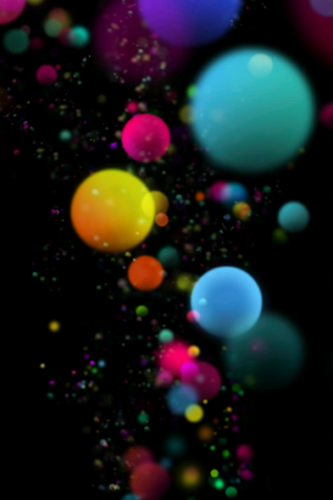 Color baloons Wallpaper HD For Mobile